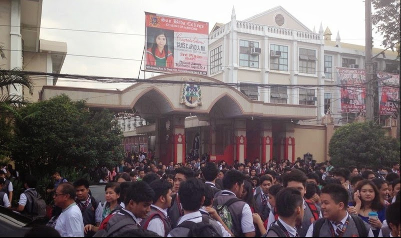 San Beda College Suspends Classes Due to Bomb Threat - Social ...