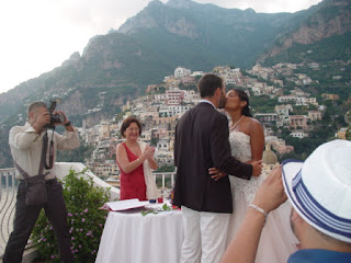 Weddings in Italy Positano