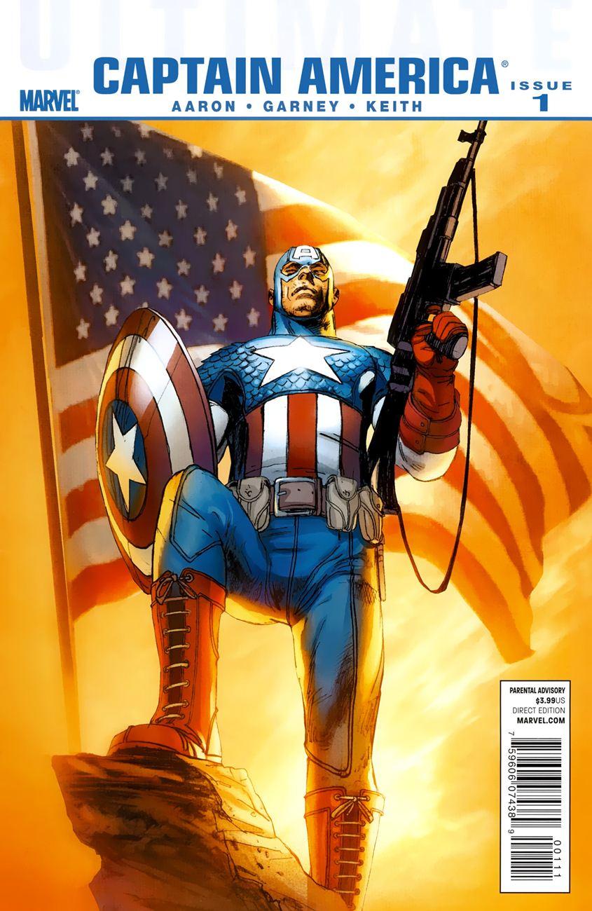 Ultimate Captain America chap 1 - Trang 2