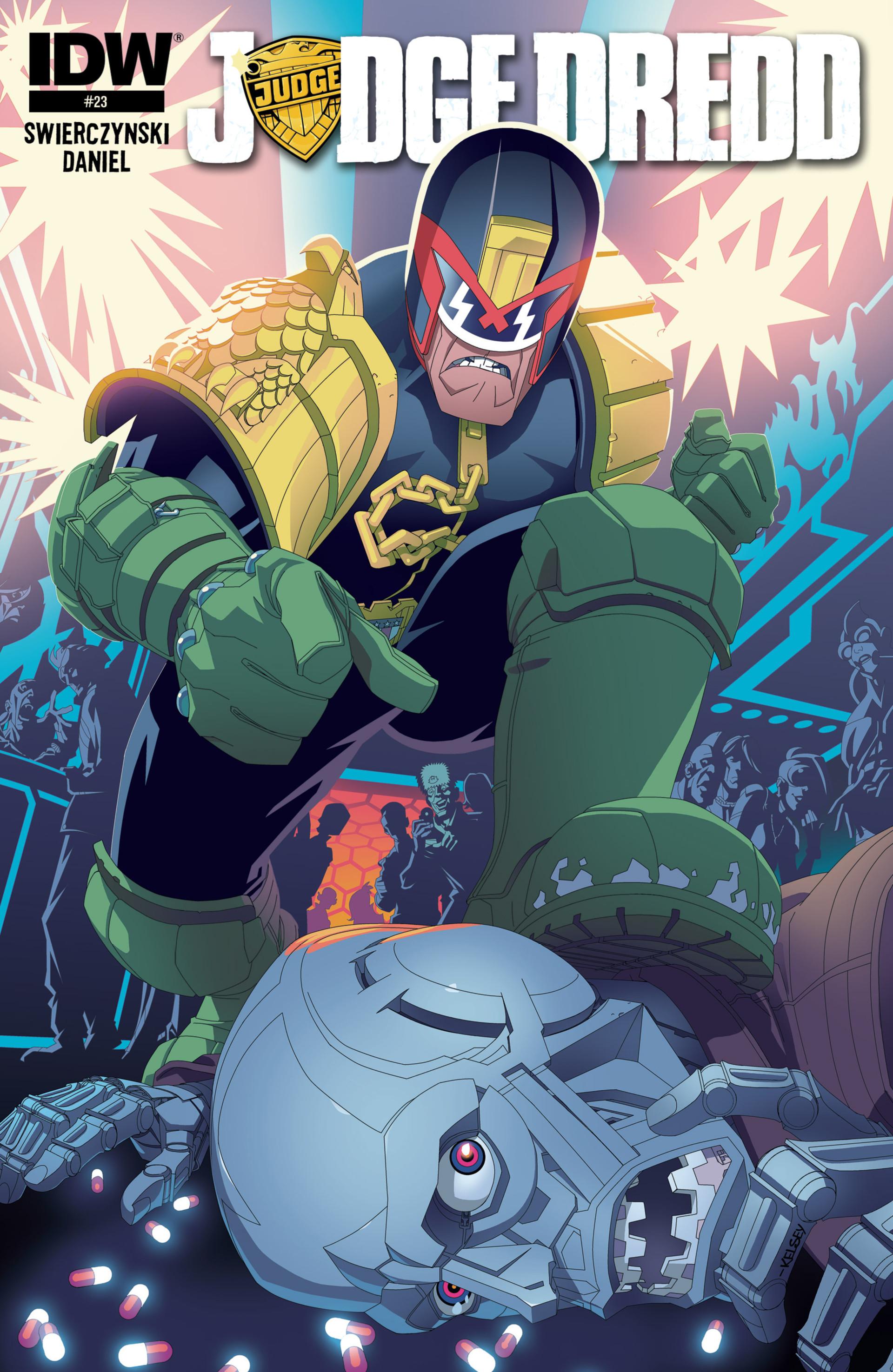 Read online Judge Dredd (2012) comic -  Issue #23 - 1