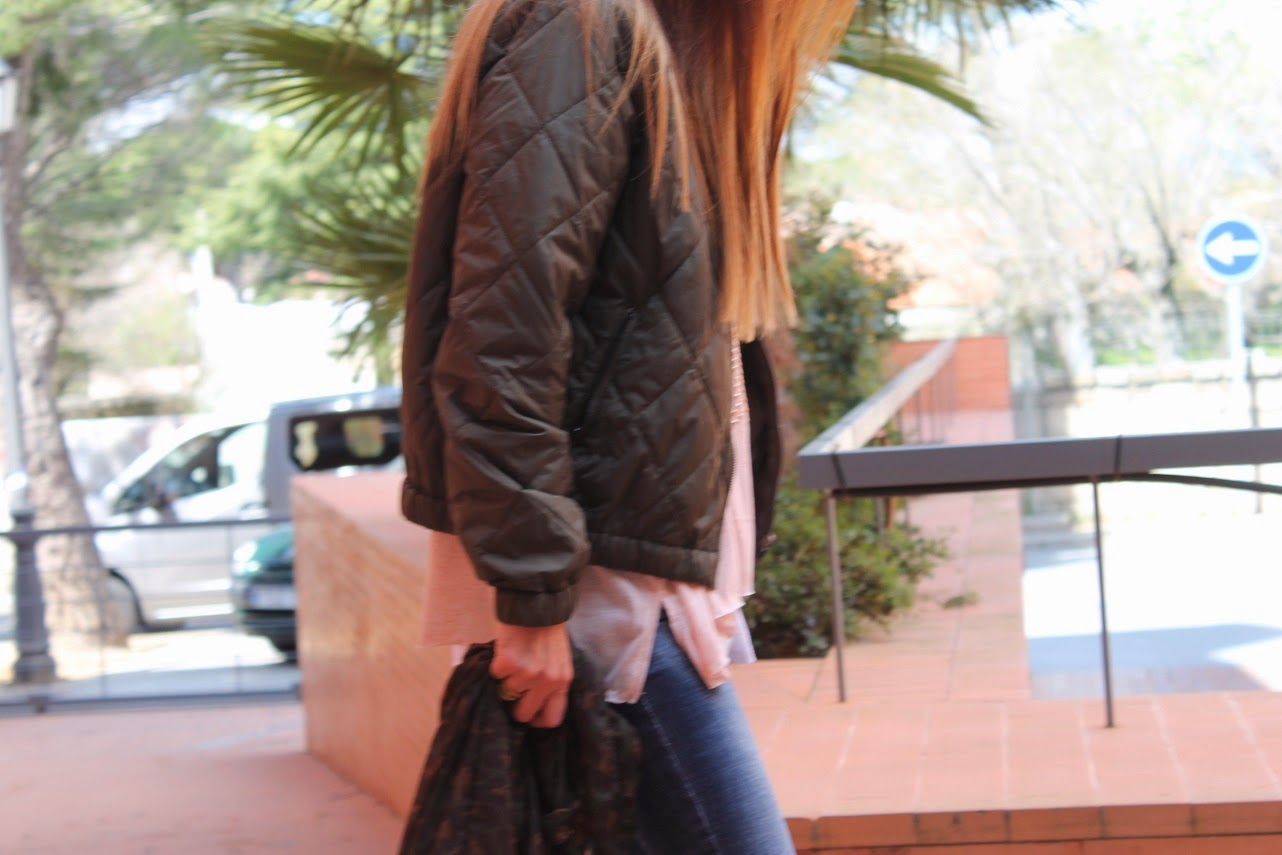 Look, Animal Print, Bomber, Mules, Bag, Style, Fashion Blogger, Carmen Hummer
