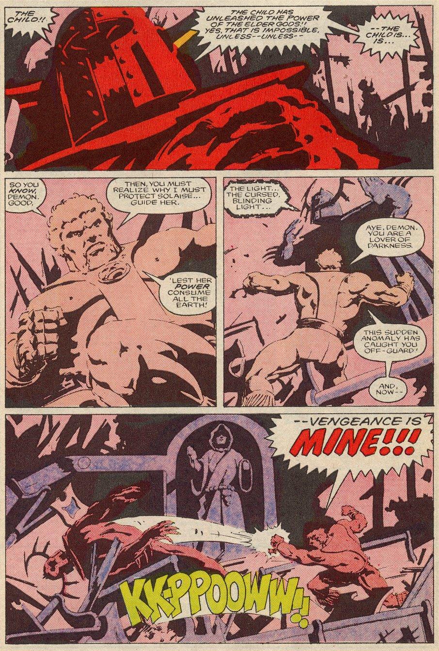 Conan the Barbarian (1970) Issue #194 #206 - English 20