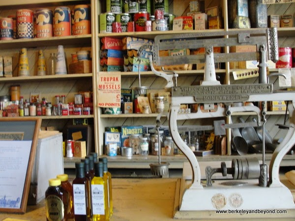 interior of Monteverde General Store Museum in Sutter Creek, California