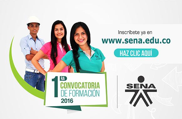 PRIMERA OFERTA EDUCATIVA SENA 2016