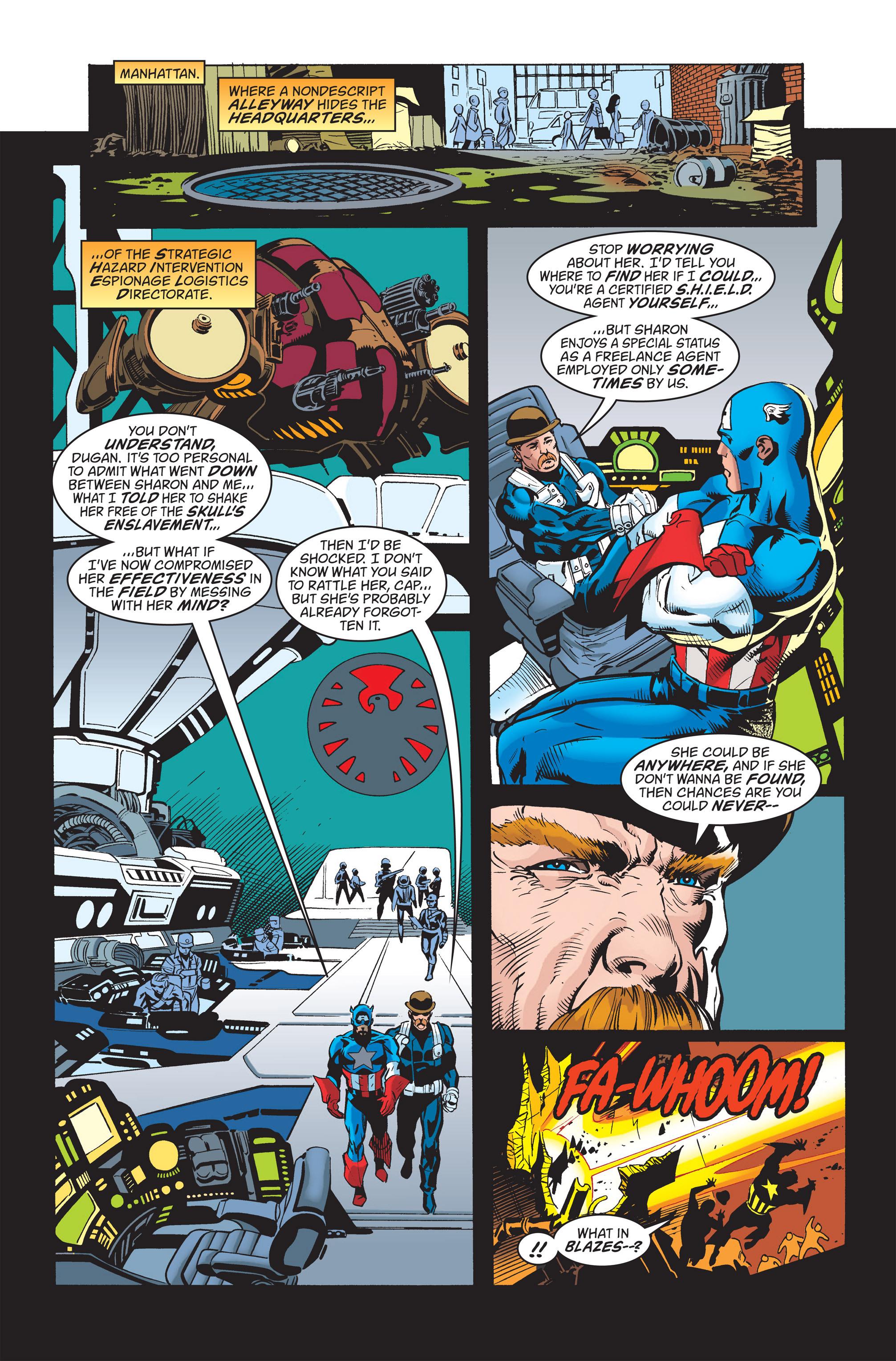 Captain America (1998) Issue #20 #26 - English 10