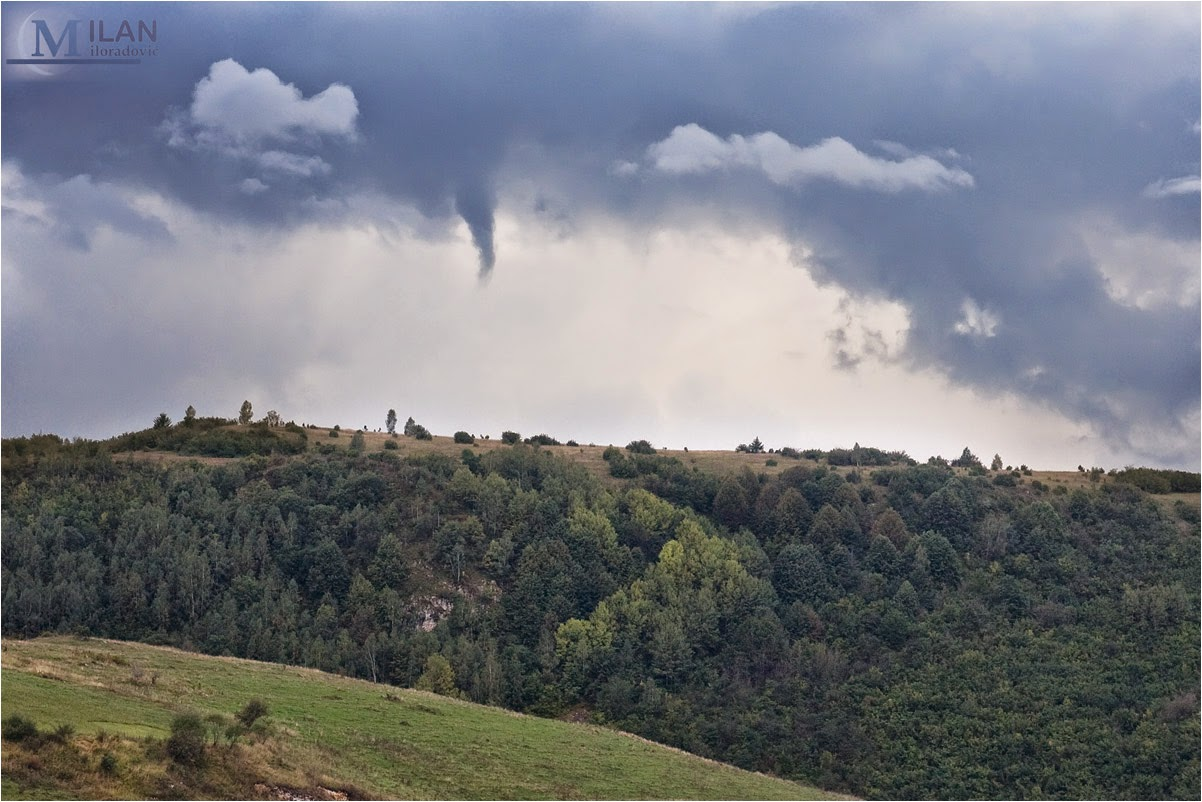 funnel over Sjenica