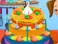 العاب طبخ كيك حفل زفاف