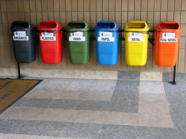Las nuevas ciencias naturales proyecto qu hacemos con la basura - Contenedores de basura para reciclaje ...