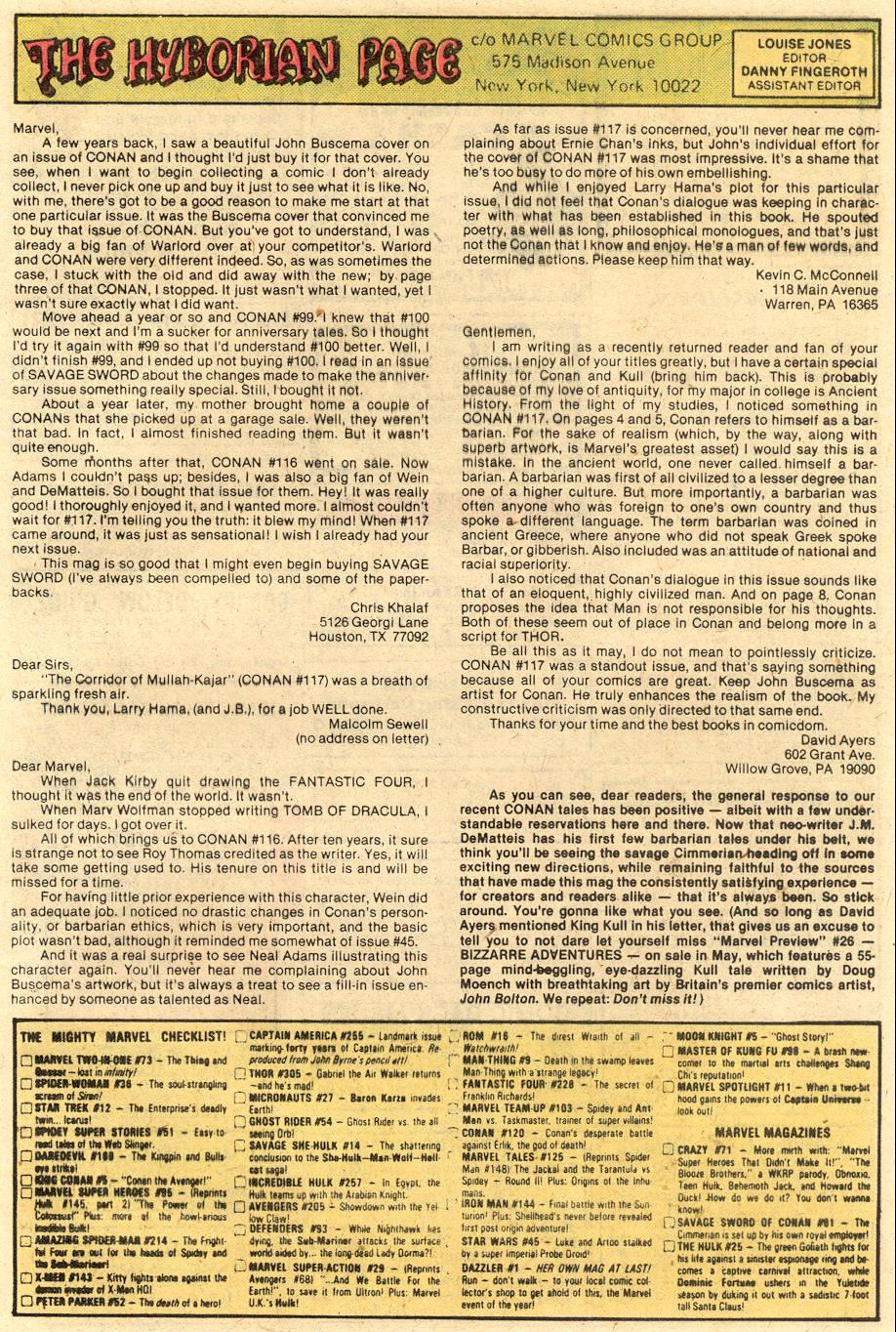 Conan the Barbarian (1970) Issue #120 #132 - English 24