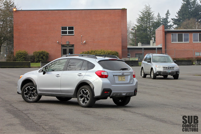Subaru XV Crosstrek and Subaru Forester