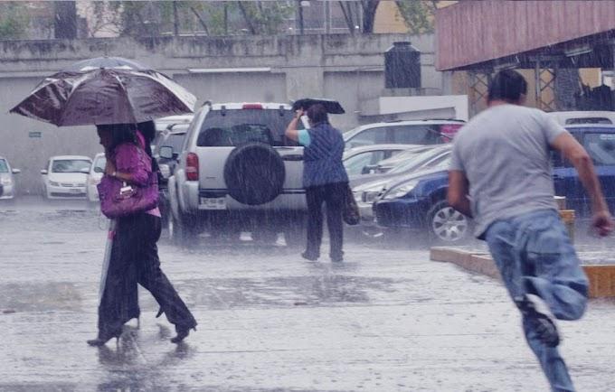 Imágenes de la lluvia