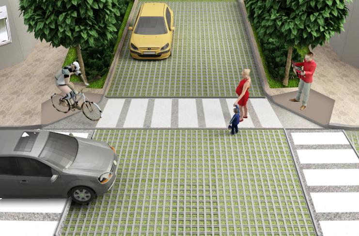Proyecto calles verdes en armon a con el medio taringa - Bloques para cesped ...
