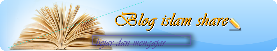 blog islam share