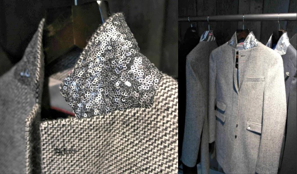 Superdry Sequin Timothy Coat