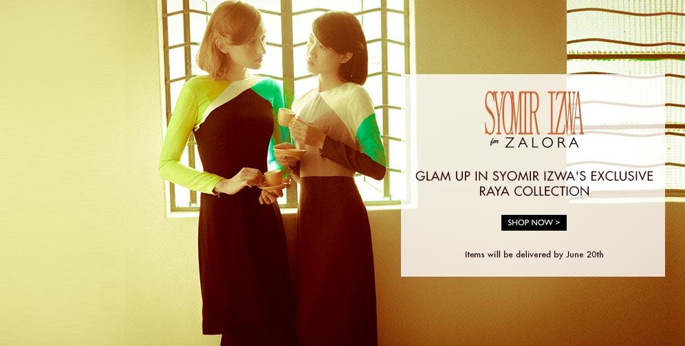 design baju raya 2014 syomir izwa for zalora brand new - Dress Design Ideas