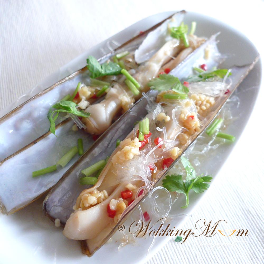 Razor clams singapore food blog on easy recipes