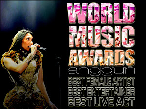 Vote Anggun at WORLD MUSIC AWARDS 2013