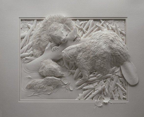 papersculpture281529 - Fantabulous Paper Sculptures