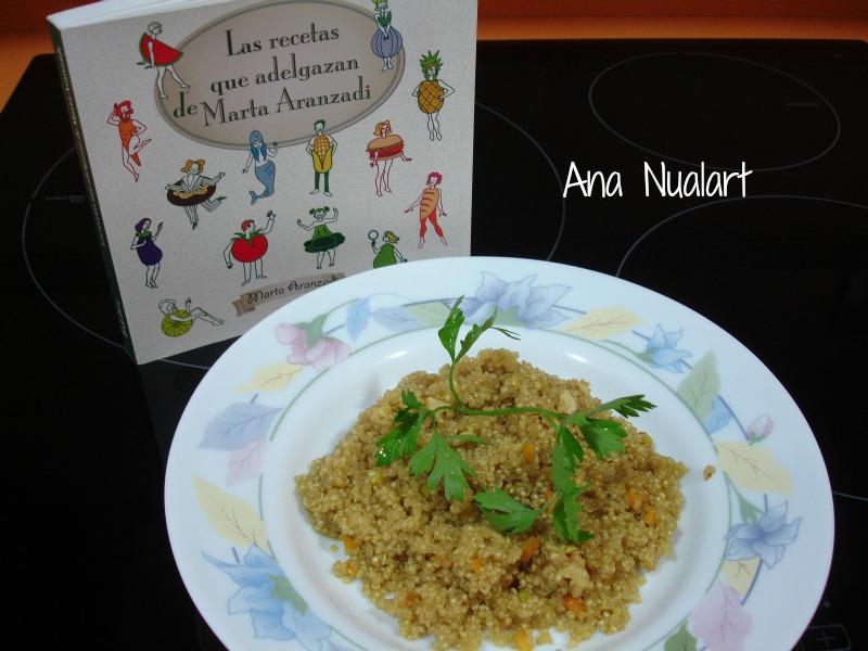 La cocinera de b tulo quinoa con verduras for Cocina quinoa con verduras