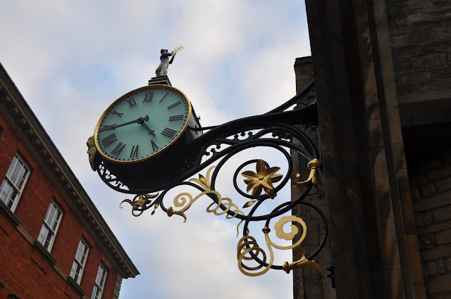 Clock in York
