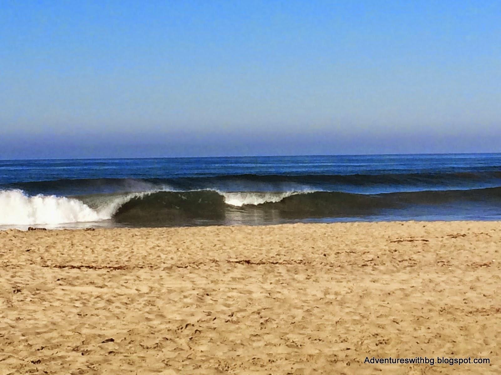 at Frazee beach, CA