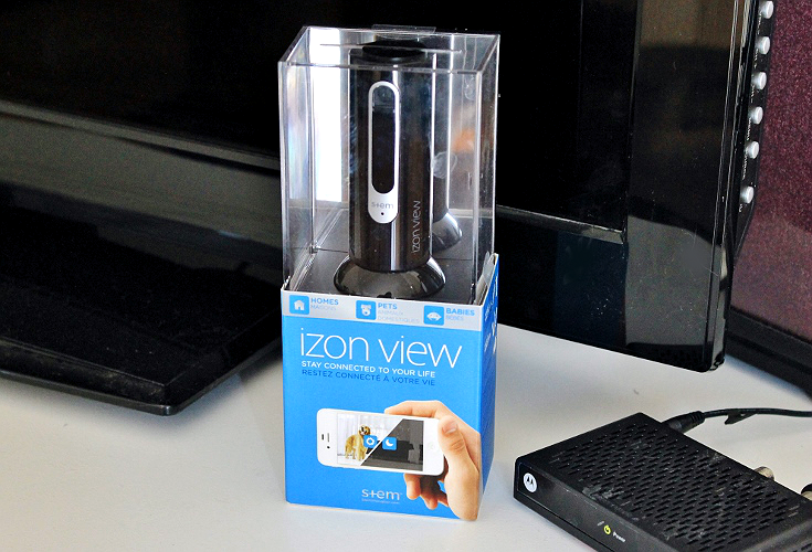 The affordable IZON View retails for $99 and offers unlimited streaming of noise and video events to any app cabable Android or Apple device. Keep an eye on your family, pets, or home in full color with this easily portable, high quality, streaming camera. #ad