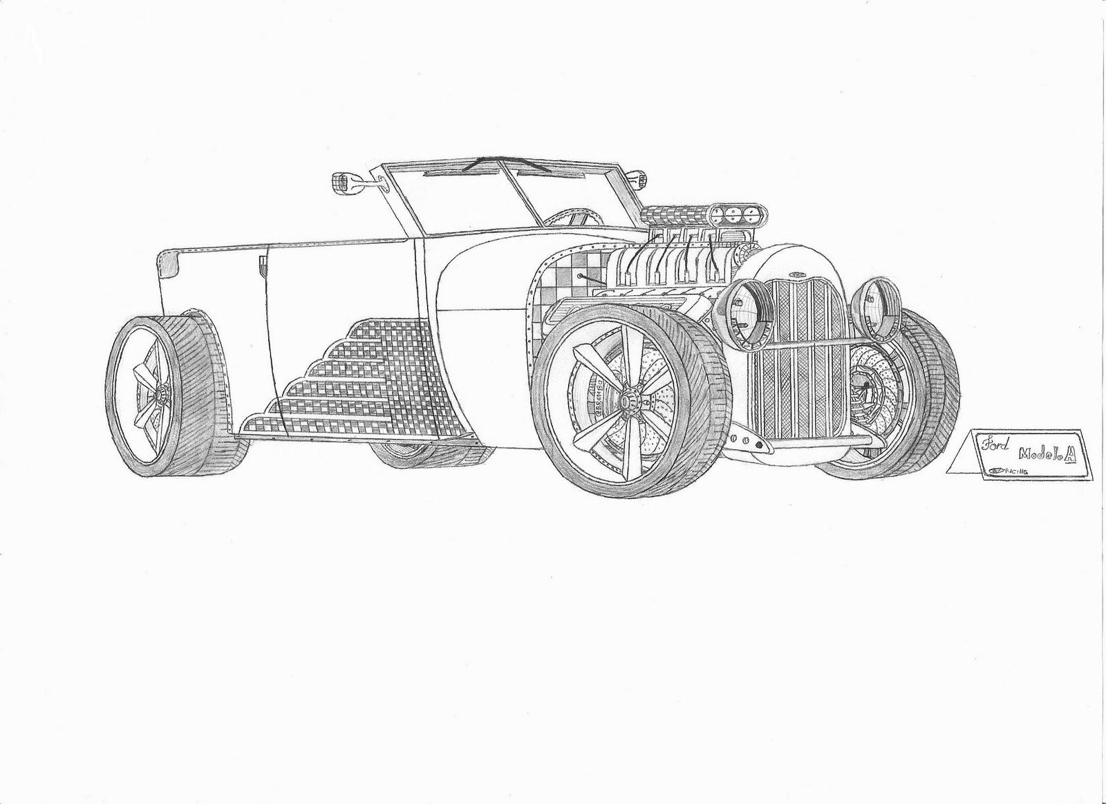 desenhos automotivos