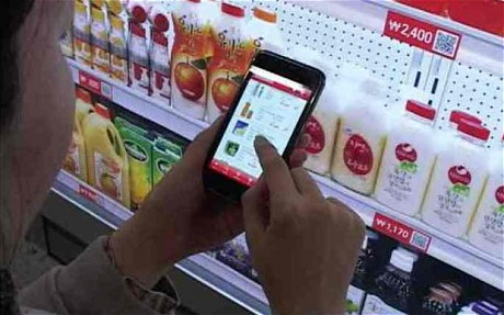 tescos virtual store from south korea Shopping on the go just got easier in south korea a new virtual store developed by euro grocery giant tesco for its line of south korean home plus supermarkets lets.