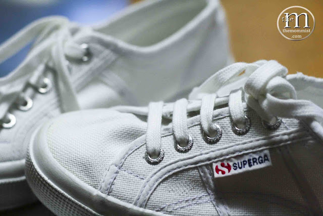Superga Cotu Stonewash White