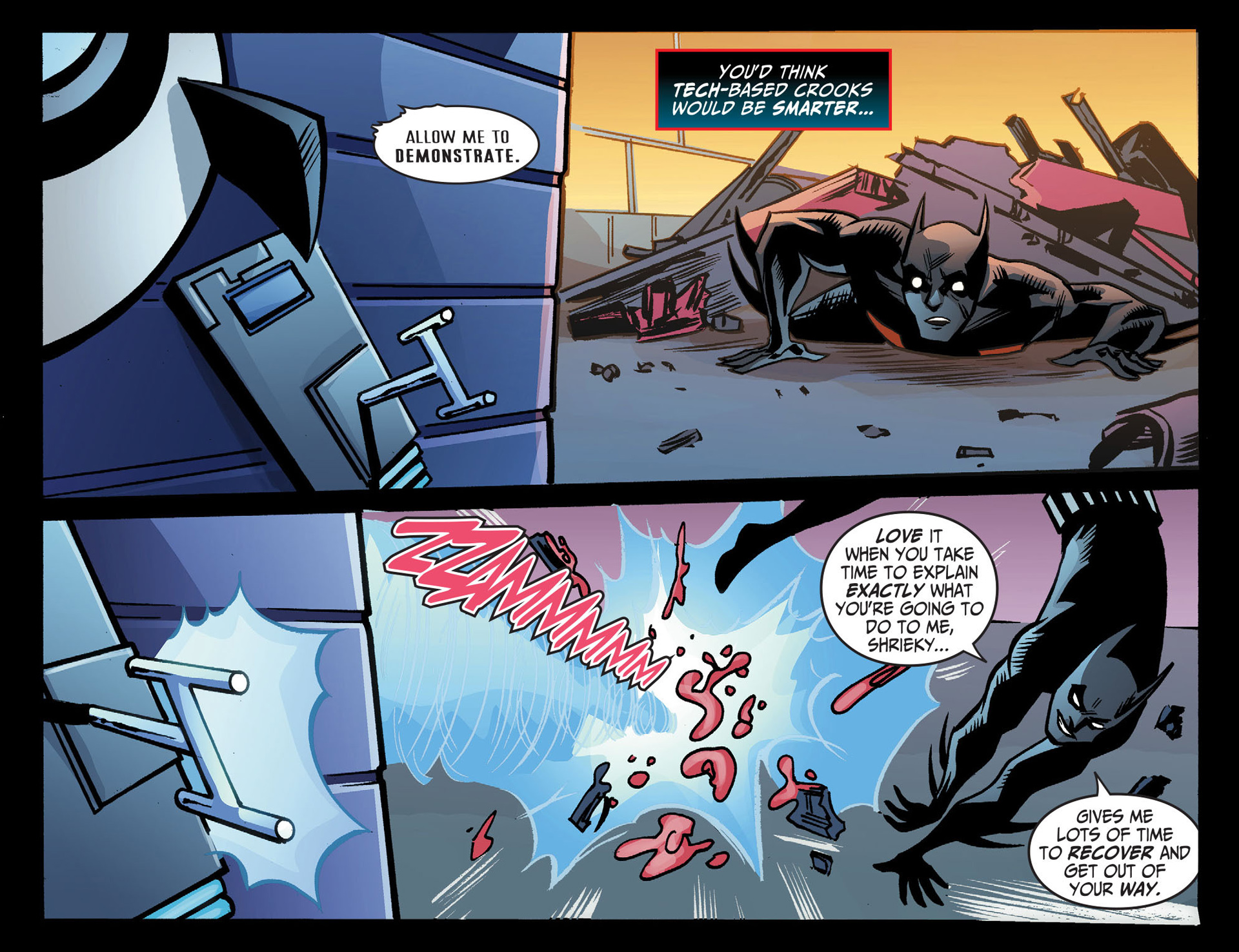 Batman Beyond (2012) Issue #22 #22 - English 12