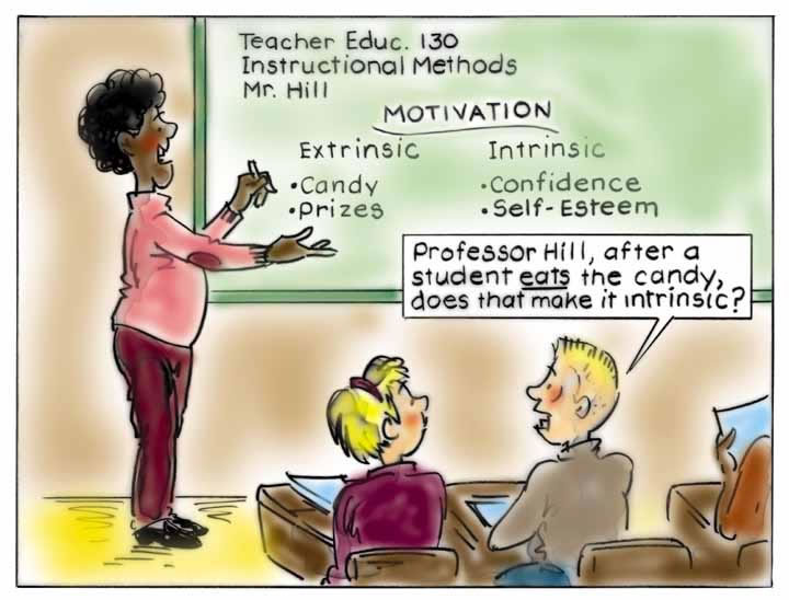 motivation for students in the classroom Dr ken shore's classroom problem solver series the unmotivated student a motivational problem is not always easy to define, although teachers usually have no trouble recognizing it: the unmotivated student is the one whose attitude toward schoolwork screams, i don't care.
