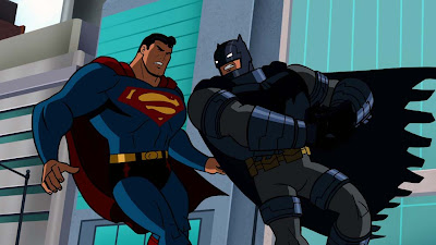Batman vs Superman in the Battle of the Superheroes