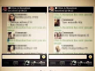Capture BBM Robbi Abbas Jual Artis Tanpa Sensor, Beredar di Internet