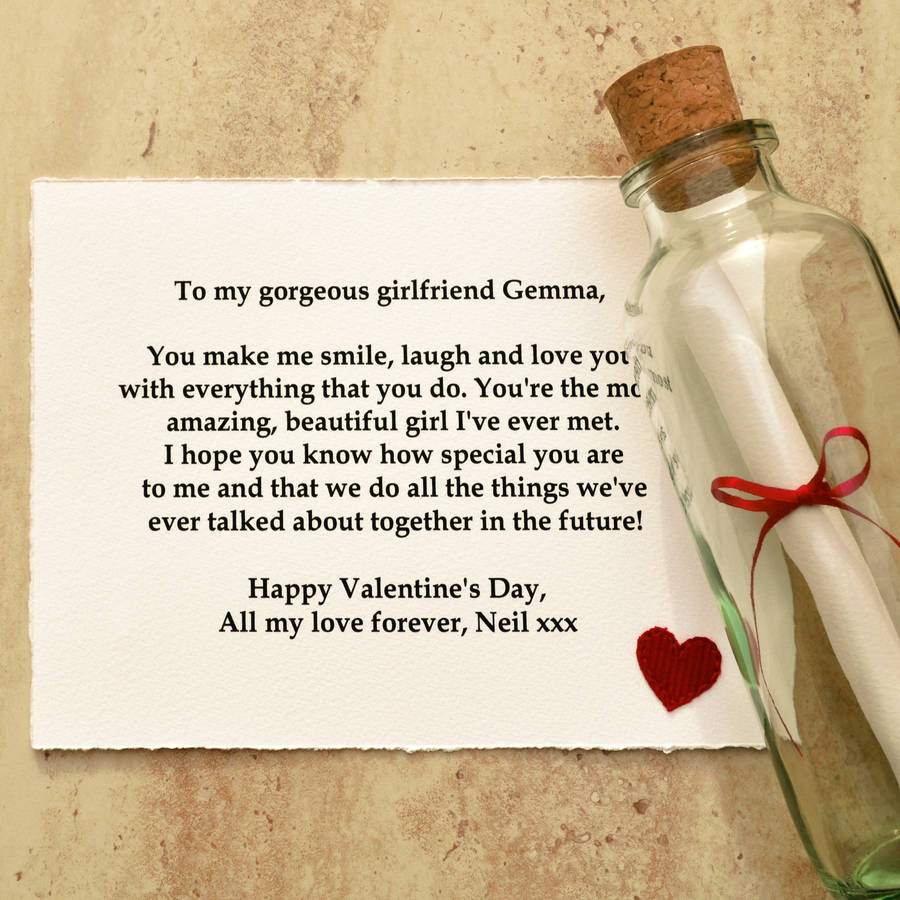 Romantic Happy Valentines Day Messages Wishes – Valentines Card Message