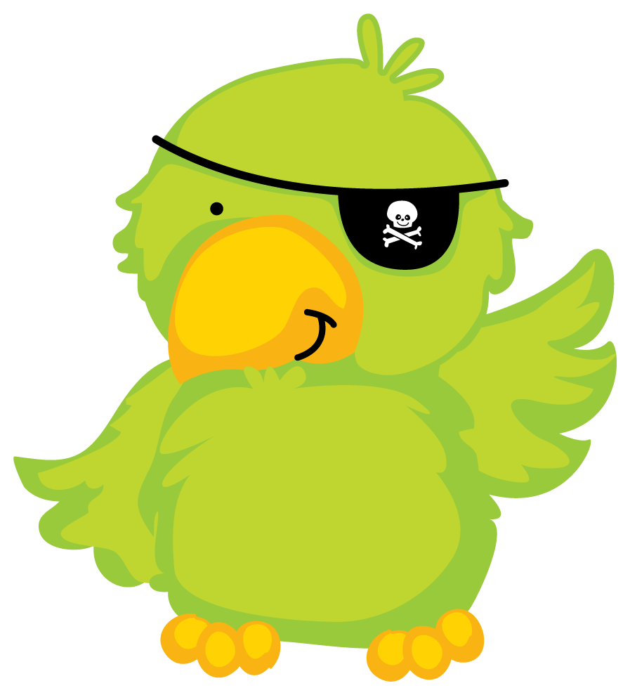 image gallery of pirate parrot png