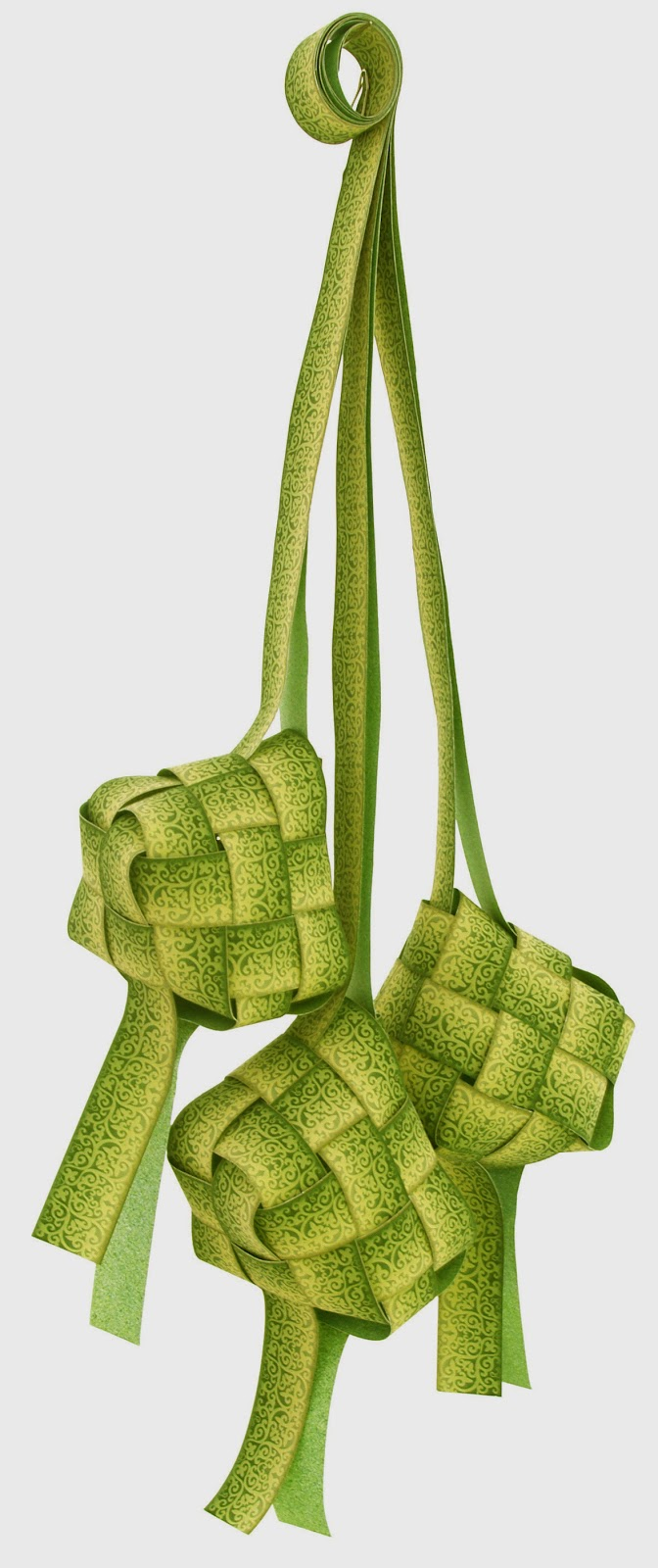 Ketupat, the most synonymous symbol with Hari Raya Festival