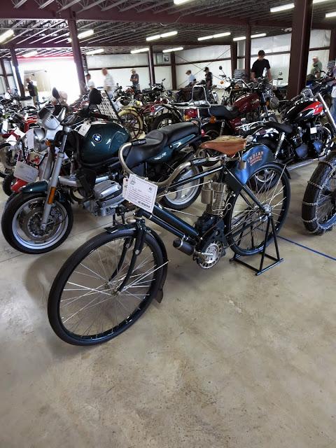 Motorcycle Auction Barber Vintage Festival
