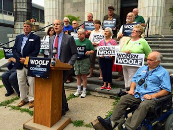 Woolf Makes It Official...He Is Riding the Social Safety Net Issue to the End