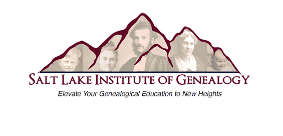 SALT LAKE INSTITUTE OF GENEALOGY SCHOLARSHIP Jimmy B. Parker Applications Now Being Accepted