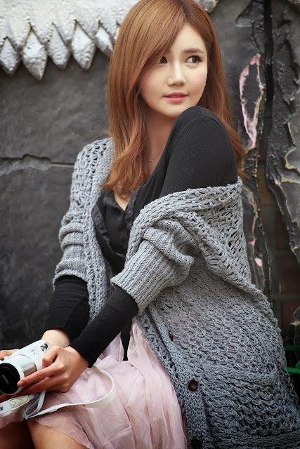 5 Han Ga Eun Outdoors - very cute asian girl-girlcute4u.blogspot.com