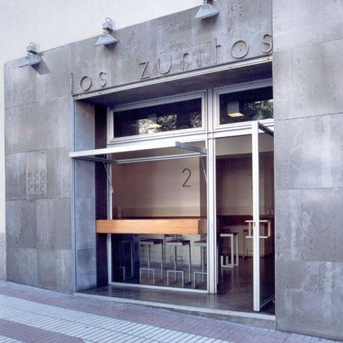 Blog del estudio mariano martin bar los zuritos 1999 - Paneles madera exterior ...