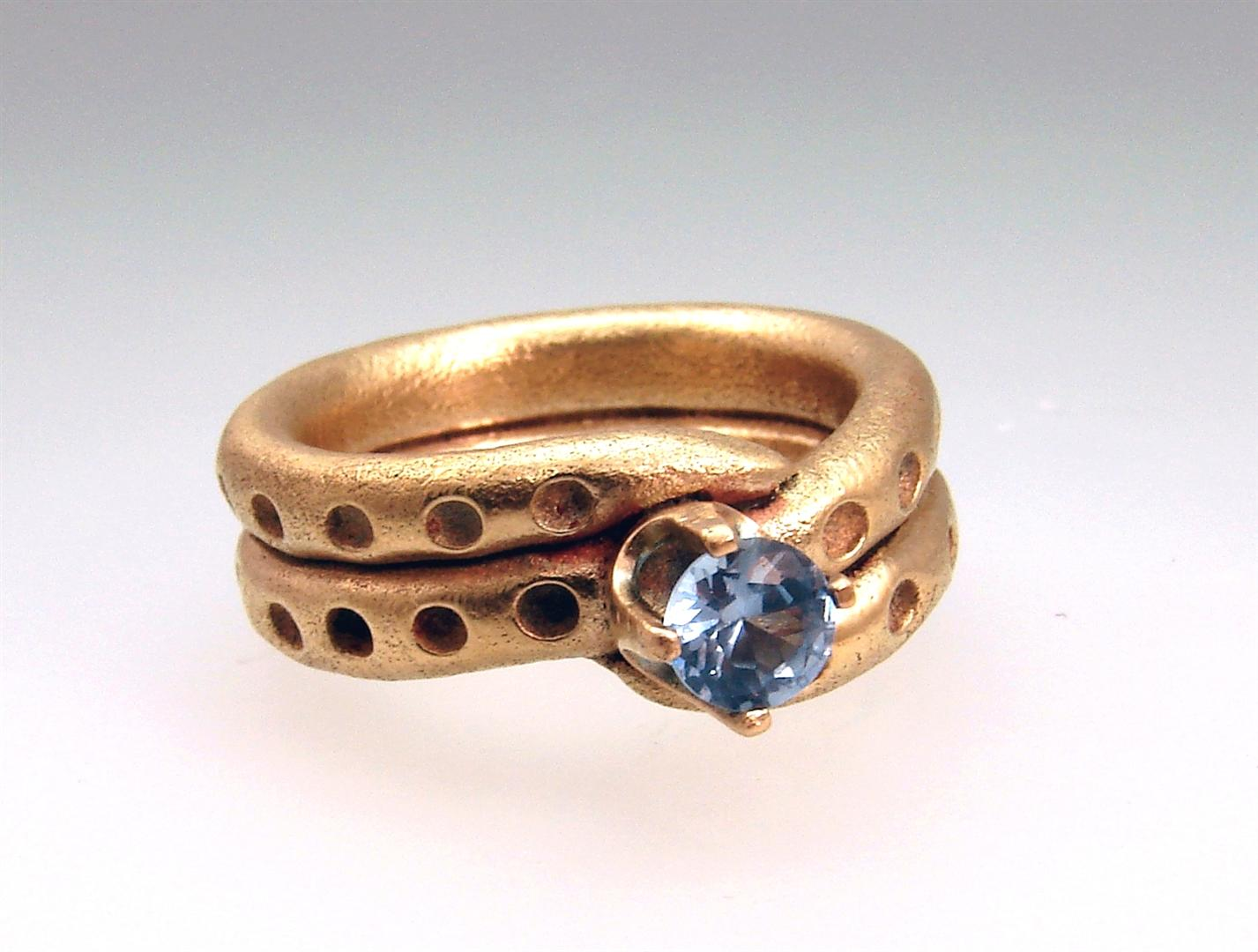 nodule designs rings azurite bronze maa raw anne ring