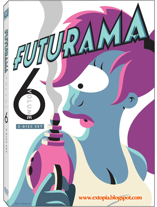 Futurama Vol. 6 dvd rip