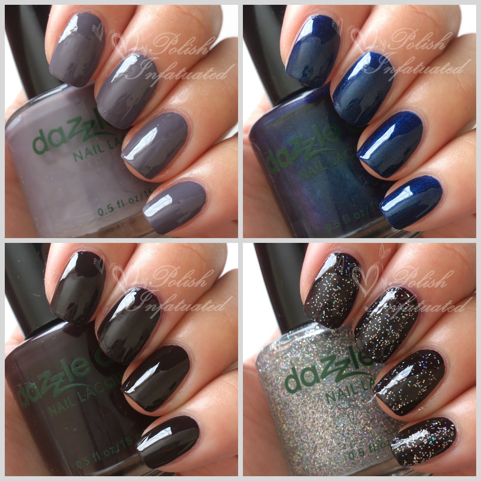 Swatches and review: Dazzle Dry nail polish ~ Polish Infatuated