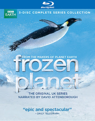 Frozen Planet Blu-Ray cover