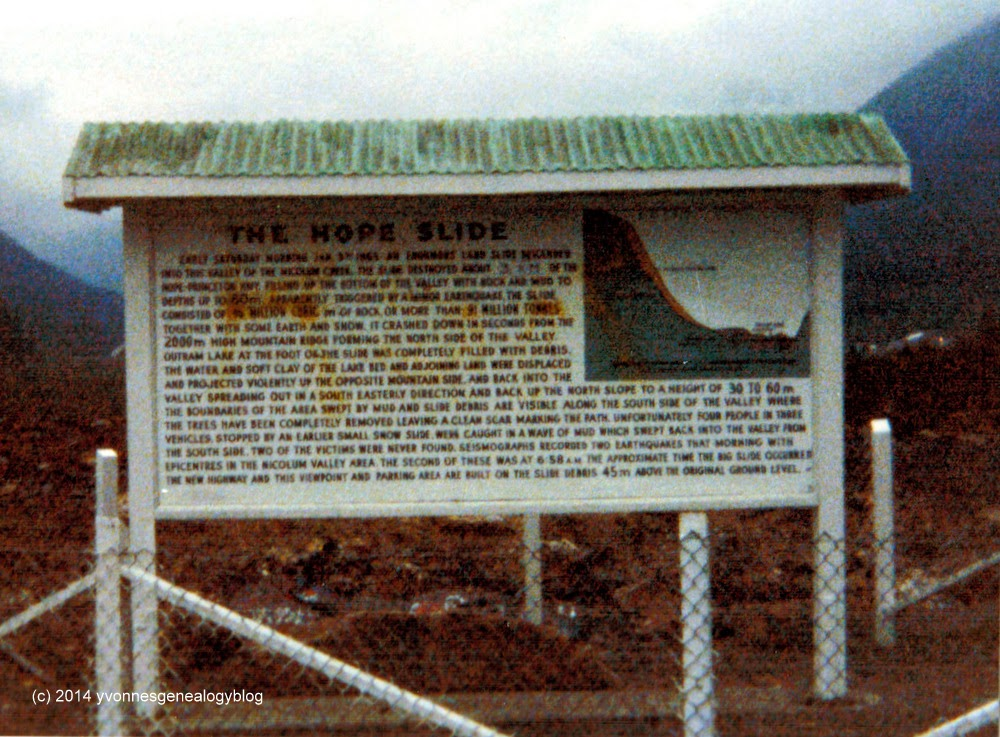 The Hope Slide 1980