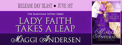 Lady Faith Takes a Leap Release Day Blast!
