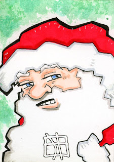 sabta clause, jay, sketch card