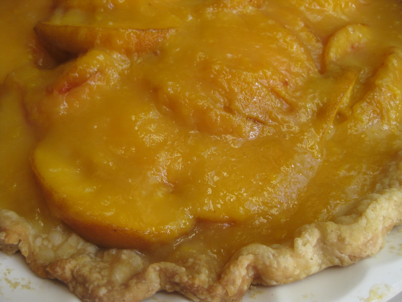 Favorite Quilting Tips and Recipes!: Fresh Peach Pie