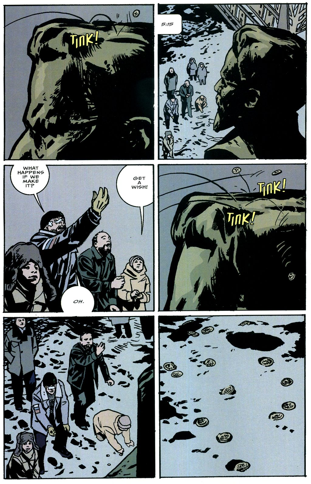 Read online The Winter Men comic -  Issue #4 - 17